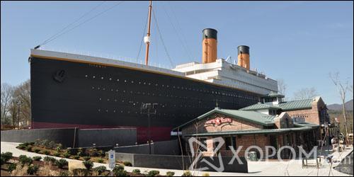 Домогт Титаник хөлөг онгоцны аварга том хуулбар Америкт байдаг 42 фото