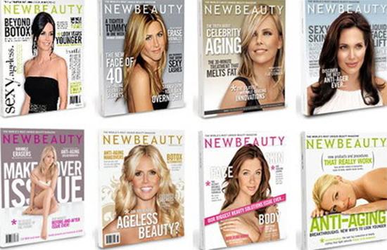 NewBeauty Magazine 2007-2010 Summer бүх дугаар