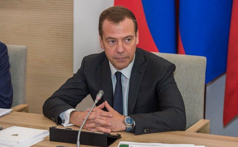 Ц.Элбэгдорж, Д.Медведев нар утсаар ярив