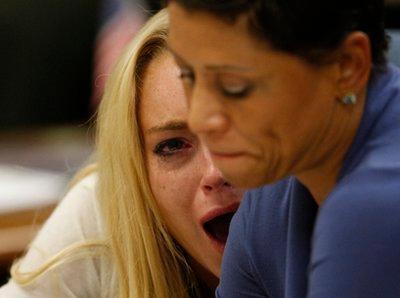 Lindsay Lohan шоронд суухаар болов