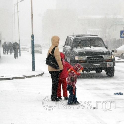 Улаанбаатарт 16 градус хүйтэн байна