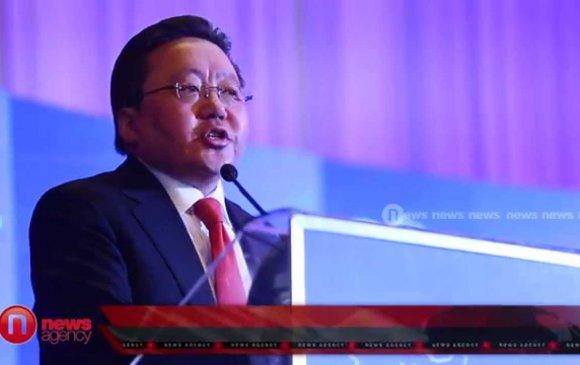 Ц.Элбэгдорж: Монголын үндэсний эрх ашиг хөгжлөөр хэмжигдэнэ