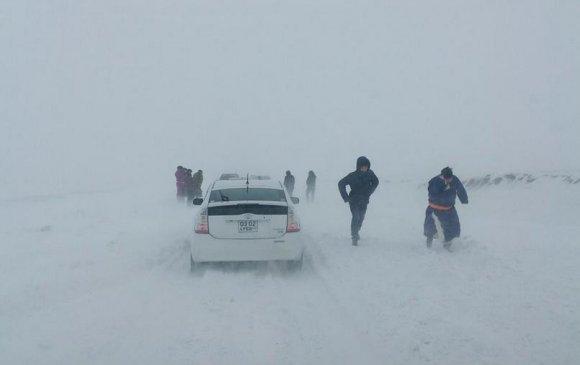 Маргаашаас эхлэн ихэнх нутгаар цас орж, шуурна