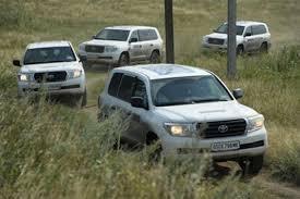 Донецкт OSCE-гийн машинуудыг шатаажээ