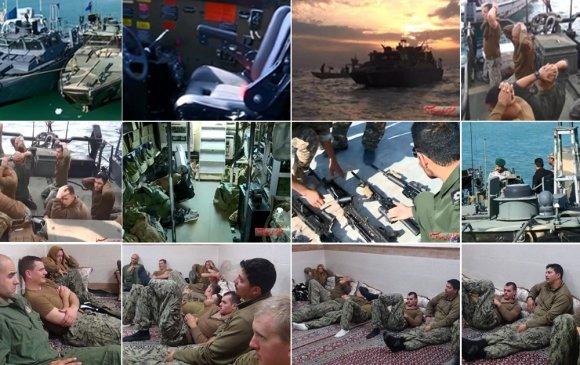 Иран Америк цэргүүдийг баривчлан хорьжээ