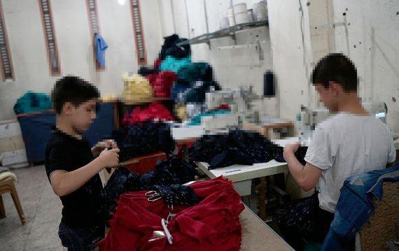 Туркийн үйлдвэрт дүрвэгсдийн хүүхдүүдийг ажиллуулж байна