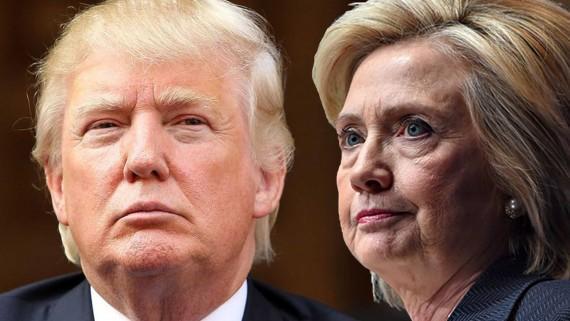 2016 оны АНУ-ын ерөнхийлөгчийн сонгуулийн санхүүжилтийн харьцуулалт