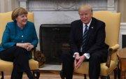 Трамп, Меркель хоёрын хүндхэн уулзалт