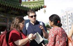 Залуу судлаачид Монголын өв соёлтой танилцлаа
