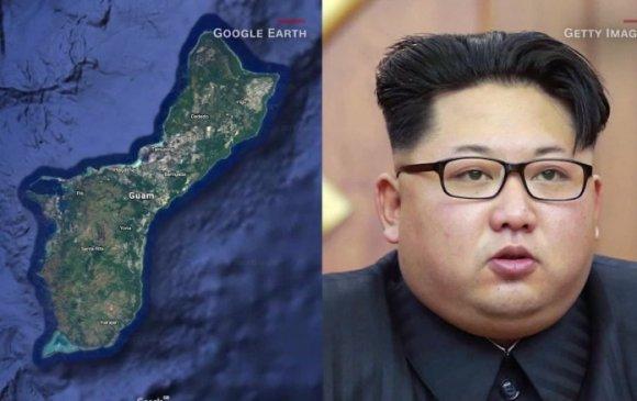 Хойд Солонгос Гуамыг бөмбөгдөнө