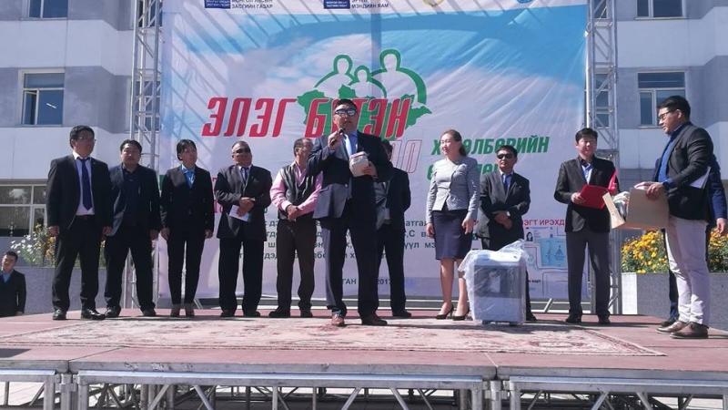 """""""Элэг бүтэн Монгол"""" хөтөлбөр Булган аймагт үргэлжилж байна"""