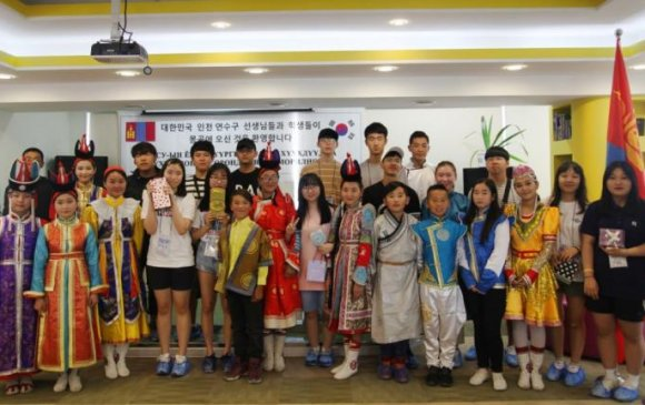 Ёнсү дүүргийн хүүхдүүд Монгол орны талаар өндөр сэтгэгдэлтэй буцлаа