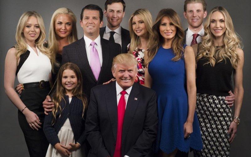 Дональд Трампын хүүхнүүд