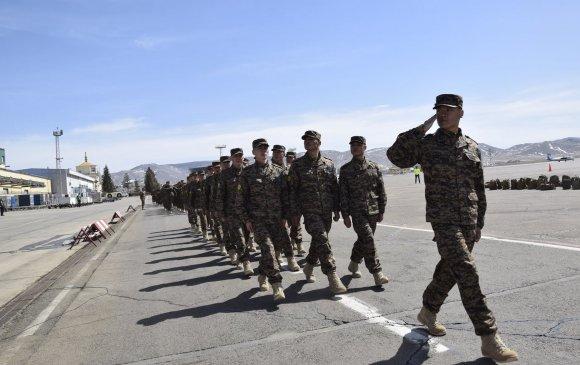 Монгол дайчид энхийг сахиулахаар мордоно