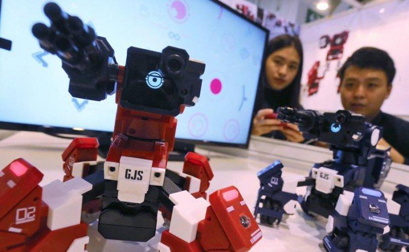 Хичээл заадаг роботууд хүчээ авч байна
