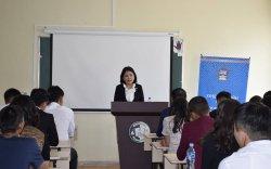 Улсын их хурлын гишүүн Б.Саранчимэг хүндэтгэлийн лекц уншлаа