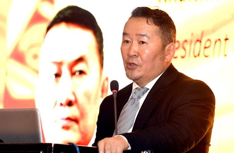 Ерөнхийлөгч Япон-Монголын хамтарсан хуралд оролцож, үг хэллээ