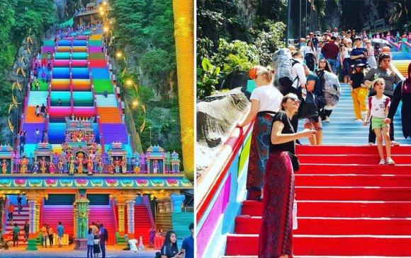 Малайзын Бату агуй сүмийн шинэ төрх