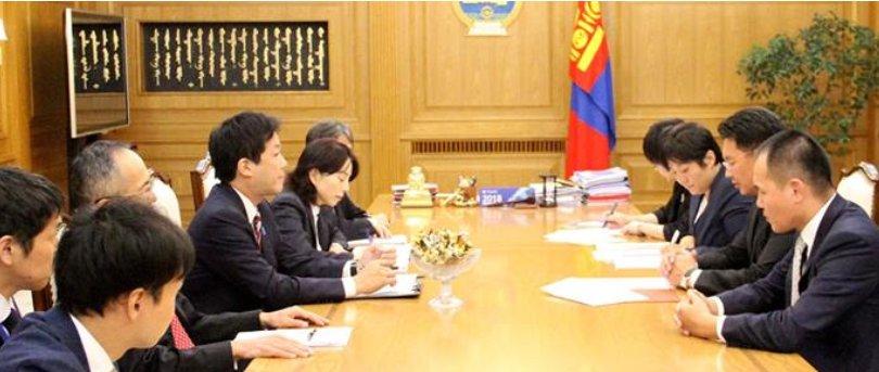 Ерөнхий сайдад Япон Улсын Ерөнхий сайдын Үндэсний аюулгүй байдлын зөвлөх бараалхлаа