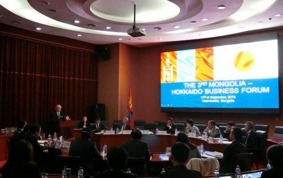 """""""Монгол-Хоккайдогийн III бизнес форум"""" болов"""