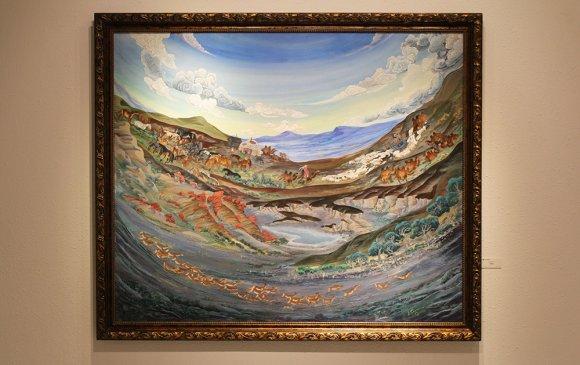 Хаан галерейд уран бүтээлч Д.Бадам, С.Долгор нарын хамтарсан үзэсгэлэн үргэлжилж байна
