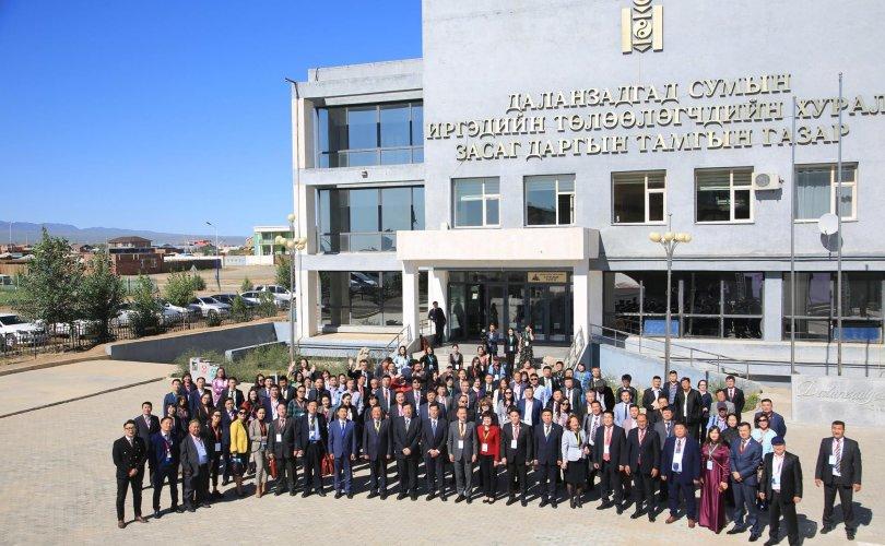 Монгол Хятадын хэвлэл мэдээллийн IX форум Өмнөговьд болж байна