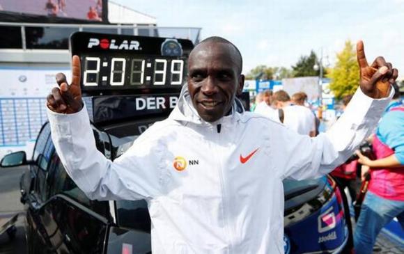 Кенийн тамирчин марафоны шинэ рекорд тогтоолоо