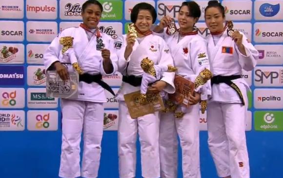 Д.Сумъяа гурав дахь медалиа дэлхийн аваргын дэвжээнээс хүртлээ