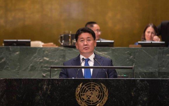 У.Хүрэлсүх: Монголчууд зовлон тохиолдсон ард түмэнд ямагт туслахыг эрмэлздэг