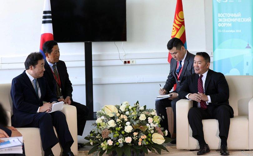 Ерөнхийлөгч Х.Баттулгад БНСУ-ын Ерөнхий сайд Ли Наг Ён бараалхлаа
