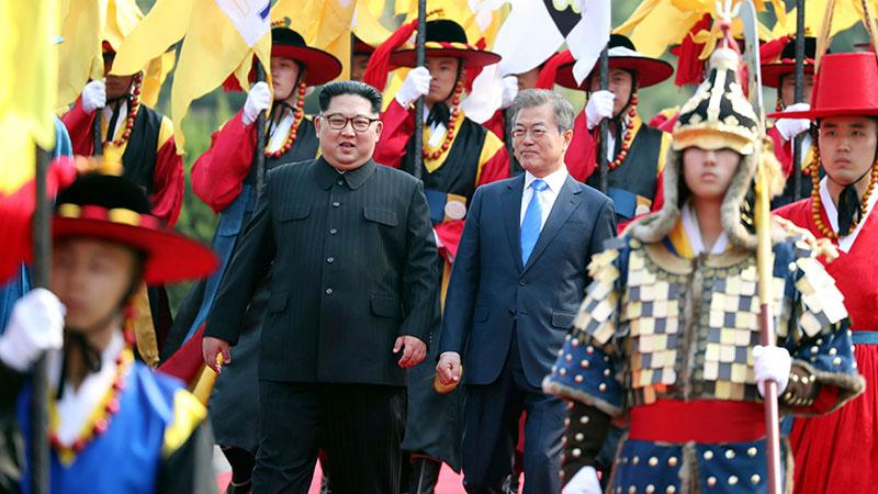 Хоёр Солонгос дайны энхийн гэрээ байгуулах уу?