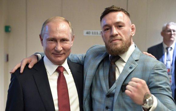 Путин, Трамп нарыг МакГрегорын тулаанд урьжээ