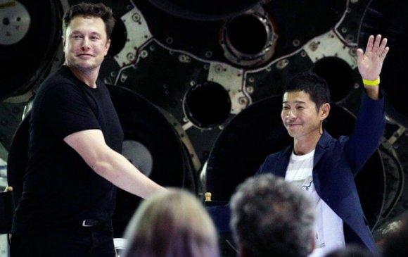 Space X-ийн анхны зорчигч Японы тэрбумтан Юсакү Маэзава