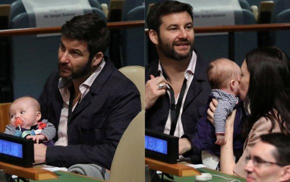 НҮБ-ын чуулганд оролцсон 3 сартай охин