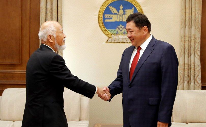 Монгол Улсын соёлын элч Ш.Каваүчи-г хүлээн авч уулзав