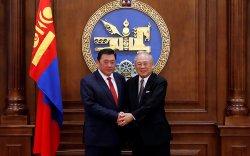 """""""Хоккайдо-Монголын эдийн засгийн харилцааг дэмжих нийгэмлэг""""-ийн төлөөлөгчдийг хүлээн авч уулзав"""