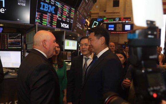 Ерөнхий сайд Нью-Йоркийн Хөрөнгийн биржийн үйл ажиллагаатай танилцлаа