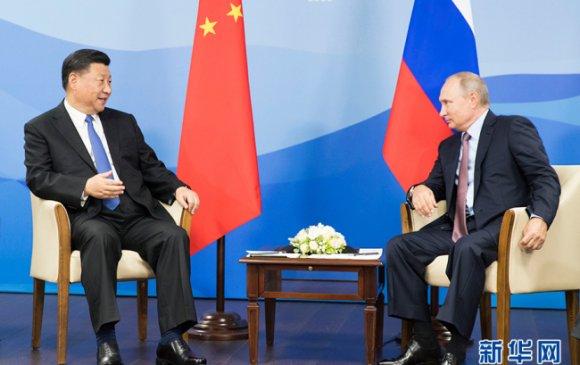 Хятад, Оросын төрийн тэргүүн нар уулзлаа