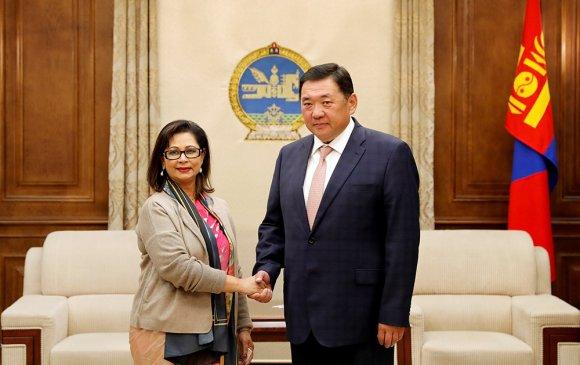 Бангладеш улс дахь Монгол Улсын өргөмжит консулыг хүлээн авч уулзлаа