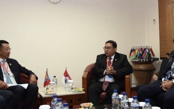 Индонез Улсын Төлөөлөгчдийн танхимын дэд дарга ноён Фадли Зонтой уулзав