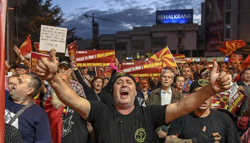 Македон улсын нэрийг өөрчлөх бүх нийтийн санал асуулга болж байна