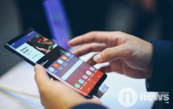 """""""Galaxy Note 9"""" гар утасөнөөдрөөс худалдаанд гарлаа"""