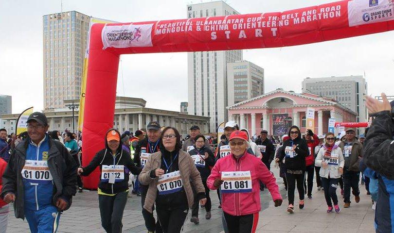 """""""Үзэсгэлэнт Улаанбаатарын цом"""" нэг бүс нэг зам Монгол-Хятадын өртөөт марафон боллоо"""