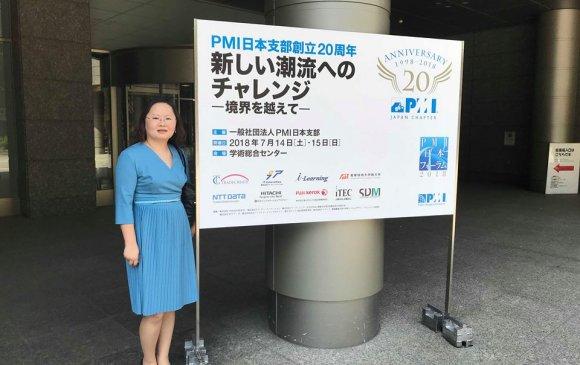 Э. Ганцэцэг: Төслийн удирдлагын PMP зэрэг нь олон улсын төслийн мэргэжилтнүүдтэй нэг хэлээр ярих боломжийг олгоно