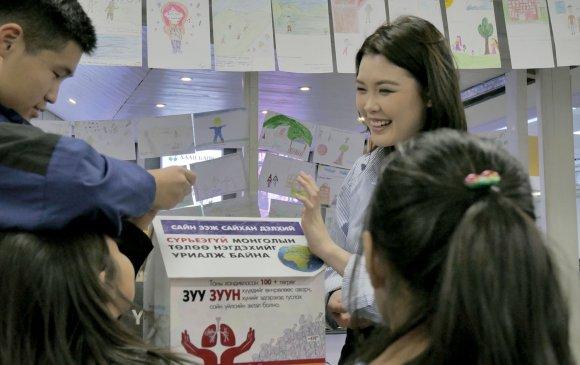 """Э.Энхриймаа """"Сүрьеэгүй Монгол"""" хүмүүнлэгийн төслийг санаачлан эхлүүллээ"""
