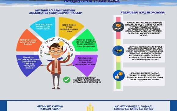 Инфографик: Иргэний агаарын хөлгийн худалдааны хэлэлцээрт нэгдэн орох тухай хуулийн танилцуулга