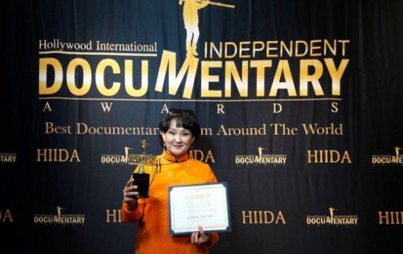 """Монгол хүн анх удаа """"Оскар""""-ын шагнал хүртжээ"""
