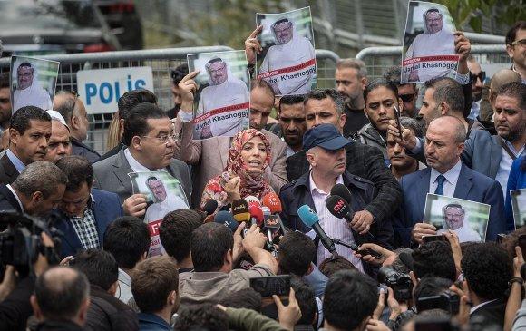 Турк: Арабын сэтгүүлч консулын байрандаа амиа алдсан гэжээ