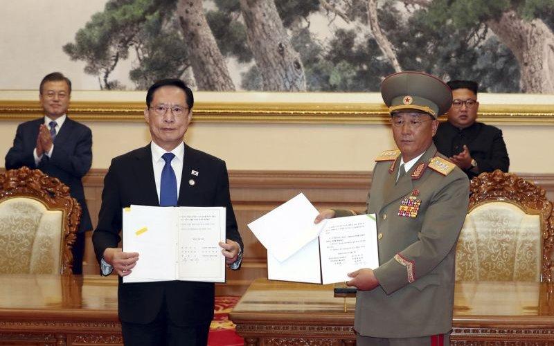 Хоёр Солонгосын харилцаа хурдацтай сайжирч байна