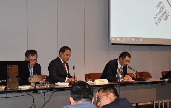 Л.Энх-Амгалан ОУПХ-ны Ассамблейн 139 дүгээр чуулганд үг хэлэв